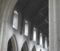 Mt St Bernard's Abbey interior